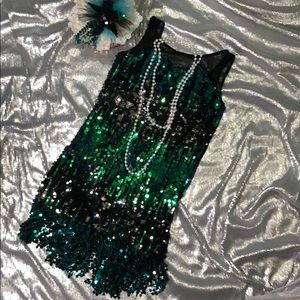 Other - Full sequins girls dress